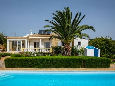 Photo for A beautiful and charming three bedroom villa, with private swimming pool.