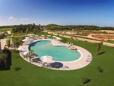 Photo for 598 Apartment with Shared Pool at 250 Meters from the Sea in Otranto