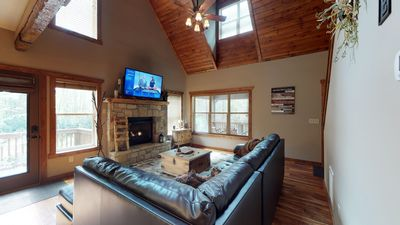 Photo for Adventure Hideaway in Eagles Nest! Hot tub, fire pit, summer concerts!