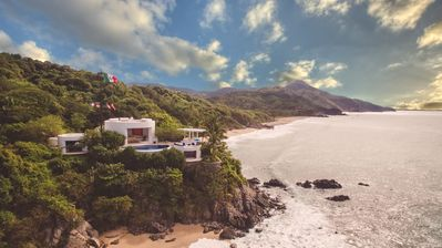Photo for Perfect for the Holidays! | 3 Private Beaches | An Architectural Vacation Home