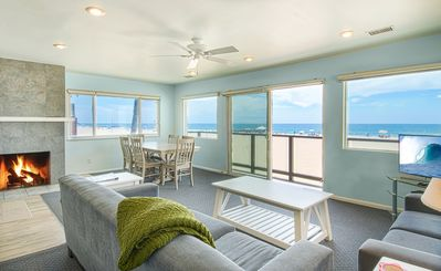 Photo for A magnificent view awaits you as you enter...this upper unit is one-of-a-kind!