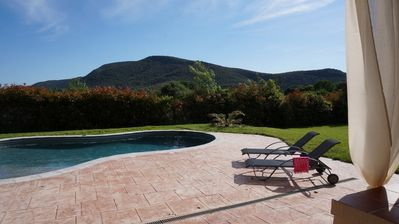 Photo for Farm cottage in an authentic Provencal farmhouse between Cévennes and Camargues