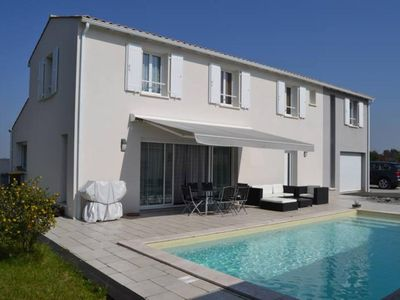 Photo for Near La Rochelle and Ile de Re, house heated pool and indoor spa