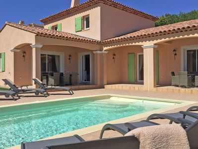 Photo for Cozy Holiday Home in Le Plan-de-la-Tour with Pool