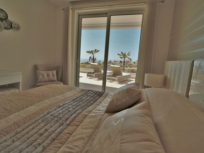 Photo for New Stunning 3 bed Apartment with Ocean View, Pools, Jacuzzi, Gym, Sauna & Wifi