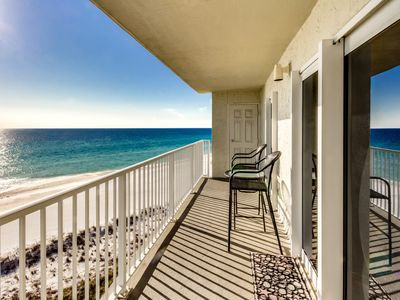Photo for A716-Direct Beach Views from Living Room & Master Bedroom - Sleeps 6
