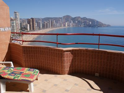 Photo for Flat in front of the Levante beach and in the heart of the city