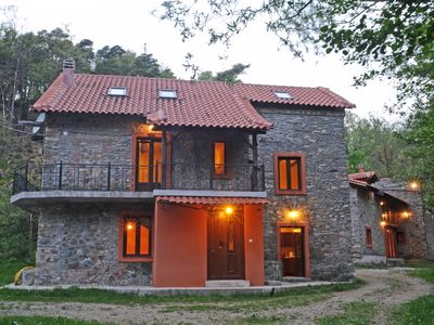 Photo for Small village with  3 stones Villas for rent with land 20.000 m2 ,for big family