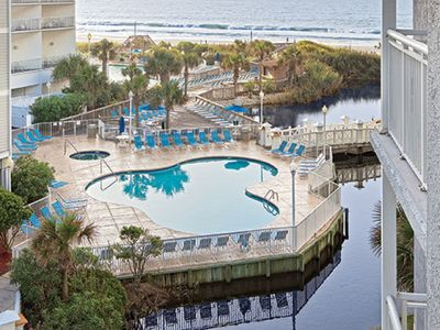 Photo for 2 BR 2 BA Ocean Front Property in Myrtle Beach SC