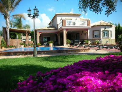 Photo for Mijas: Big house with swimming pool and nice garden