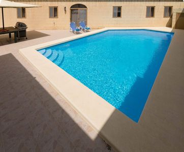 Photo for Gozo Inn Gelmus Self catered with private pool, and garden