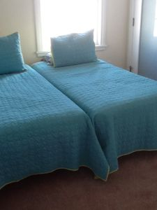 Trundle Bed (2 twins) middle bedroom and flat screen T.V with DVD player