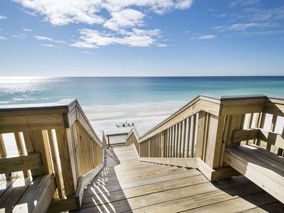 Photo for Beachside on 30A-Steps 2 Beach&Pool☀️2 Step Sanitizing Process☀️2BR Sea Bluff 14