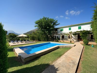 Photo for Rustic Villa Bucolia for 5 guests, a short walk to the old town of Pollensa!