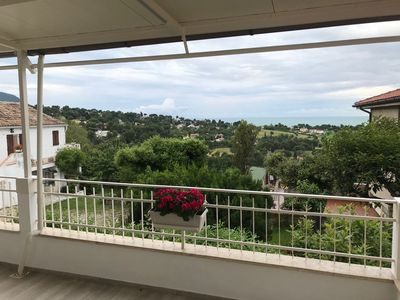 Photo for Sky land with 3 bedrooms and a large terrace overlooking the sea