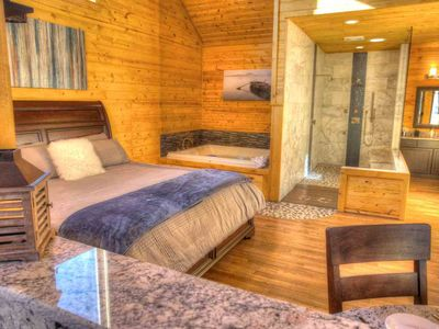 Radiance-Luxury Private Cabin w Infrared Sauna and 6 ft. 2 Person  Jacuzzi Spa