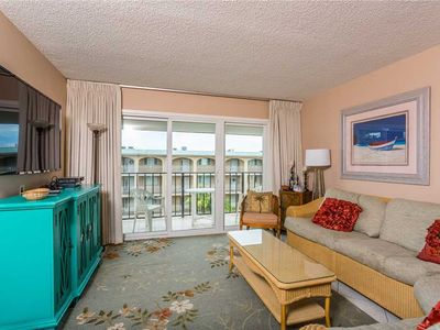 Photo for Come to St Simons Island! Oceanfront Condominium with Pool, Beach Access, Tennis