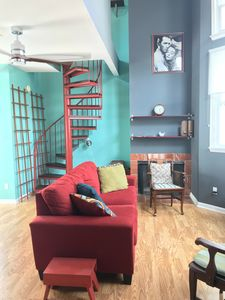 Photo for THE BRIGHT AERIE | 1 Bedroom Loft in the heart of UT West Campus Neighborhood