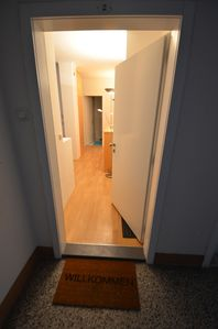 Photo for Family friendly apartment in a quiet town center
