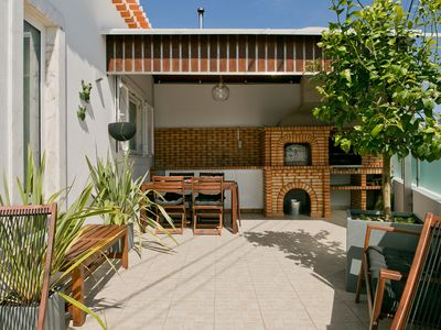 Photo for Casa da Calada (Sea View & BBQ) For Families - House for 8 people in Ericeira