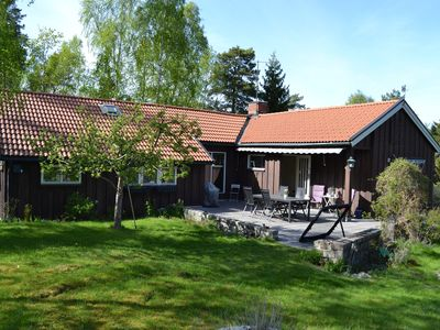 Photo for Family friendly house with a jacuzzi near the lake, sea, nature and Stockholm