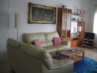 Photo for Apartment with views of the park and sea. 1. Building line to the sea!