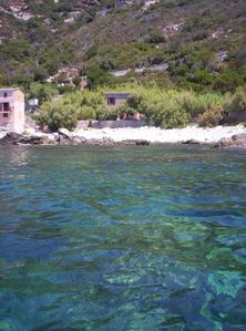 Photo for Rare, Cap Corse seaside. House with large garden and direct access to the sea.