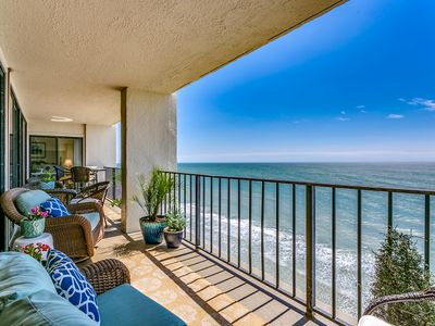 Photo for Large Penthouse Oceanfront 4bed/4bath w Huge balcony! by Luxury Beach Rentals