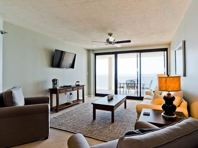Photo for Gulf Front Condo At Windward Pointe ~ Stunning Views and Community Pool!