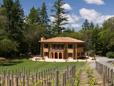 Photo for Villa Nel Bosco - Located halfway between Napa Valley and Sonoma County