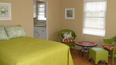 Photo for Beach Studio w/Boardwalk Patio Access - July, August Availability