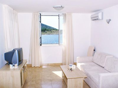 Photo for One bedroom apartment with air-conditioning Vinjerac, Zadar (A-3093-i)