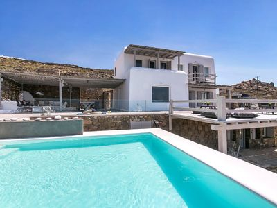 Photo for VILLA DORIA Kanalia Ornos MYKONOS 4 bedrooms, 3 bathrooms, Exclusive Pool, Up to 8 Guests !
