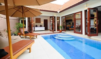 Photo for VILLA JEPUN 2 BDRM POOL MTRS TO BEACH