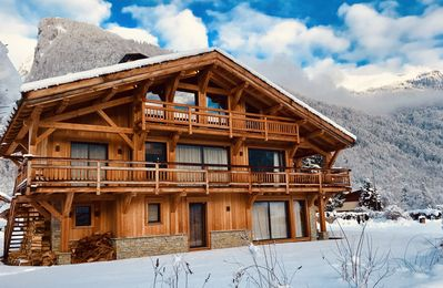 Photo for Chalet Althéa Luxury 5 * spa and sauna 10/12 pers in Samoens ski resort Grand Massif