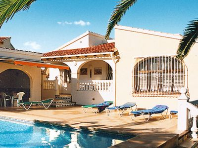 Photo for Vacation home Ferienhaus mit Pool (CLP100) in Calpe/Calp - 4 persons, 2 bedrooms