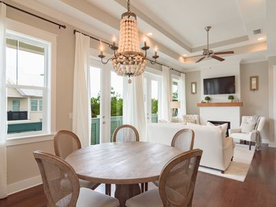 "Photo for Prominence ""Soleil on 30A"" 2BR Across From The Hub at Watersound!! Bikes!"