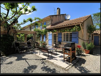 Photo for Le Mas-sleeps 8, 4bdrm, 4bathrm Self-Catering Farmhouse in the Heart of Provence