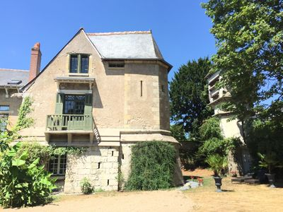 Loire Valley Medieval Loft is at the garden level of our historic property
