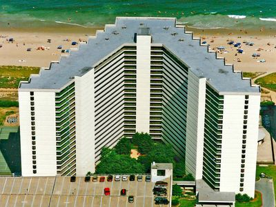Photo for Sea Watch 1303-Oceanfront 115th St, Free WiFi, Pool, Elev, W/D, AC