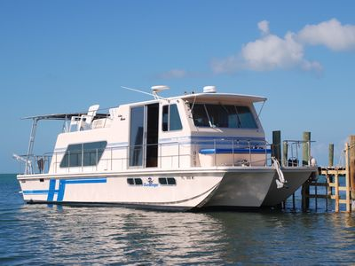 Marathon House Boat Rental   The Docked Houseboat Is Your Floating Home For  The Entire Week