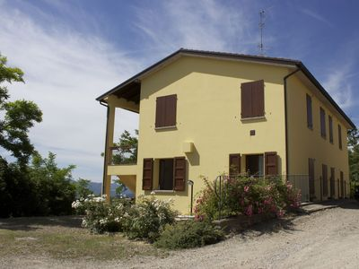 Photo for Studio in the middle of nature with panoramic views of the valley Santerno.
