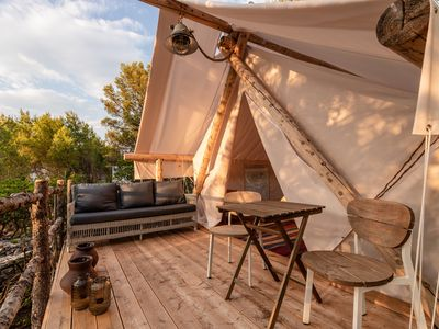 Photo for Glamping -  Plage Cache'e  Open space holiday home