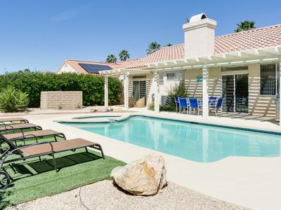 Photo for Chic Single-floor House w/ Private Pool – Minutes to Palm Springs