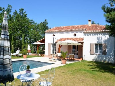 Photo for Stunning villa with private swimming pool and large garden