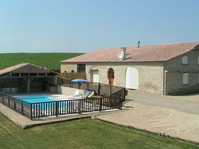 Photo for Pretty character house on large plot with private pool