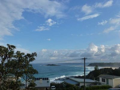 Photo for Scenic Sunset Strip  has views of green island and towards Ulladulla headland.