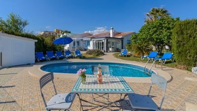 Photo for Light-filled holiday home less than 1 km from the beach - sleeps 10