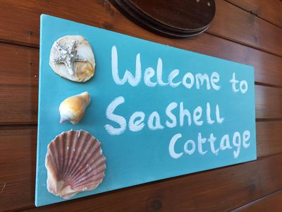 Photo for SEASHELL COTTAGE AT KINGSDOWN PARK - Sleeps 6, Superb sea views from front deck