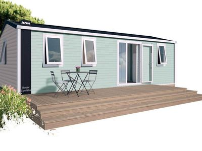 Photo for Camping Le Nid d'été **** - 4-room air-conditioned leisure mobile home for 6 people